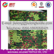 T/C camouflage printed stock fabric for garment in weifang china