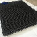 Fil d'acier de 65Mn fil de fer carré trou trou d'écran de minage de fil serti