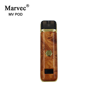 Marvec Novelty E Cigarette 2ml Recipiente Vape Recarregável