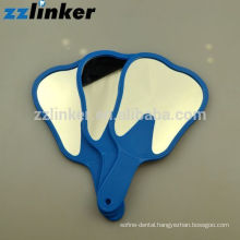 OEM Colorful Glass Dental Craft Teeth Shape Mirror