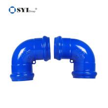 ISO 1083 ISO 2531 EN 545 EN598 Sphäroguss-PVC-Rohre Fittings für Rohrleitungsprojekte
