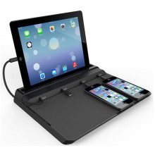 Multifunctional Universal Charging Station 1A 2.4A Desktop Charger with Cables