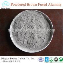 preço de óxido de alumínio marrom BFA diferente para óxido de alumínio marrom / branco / preto