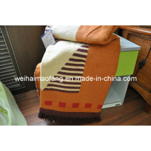 Woven Cotton and Polyester Blended Blanket (NMQ-CPT007)