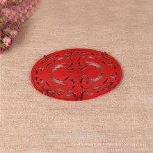 Esmalte de hierro fundido patrones de belleza almohadilla térmica