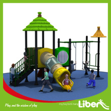 China Liben Hot Sale Used Outdoor Playground with Garden Swing