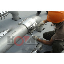 RCD flexible Edelstahl / PVC Schnellrohr Reparaturklemme