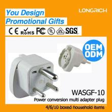 Venta al por mayor eléctrica multi toma de corriente, hecha en China usb socket de pared