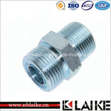 Adaptateur de tuyau hydraulique mâle à haute pression Orfs / NPT