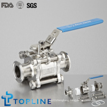 Sanitary Stainless Steel Sanitary Encapsulated Ball Valve