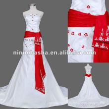 Echtes Muster Hochzeitskleid