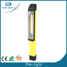 3W COB LED bateria Powered Pen lanterna