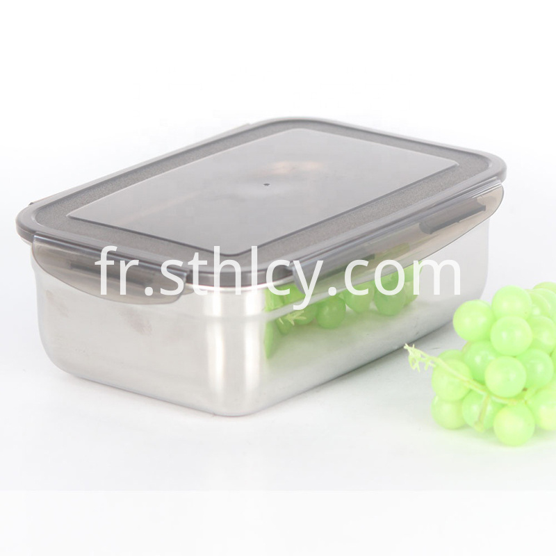 Leakproof Stainless Steel Food Container Set