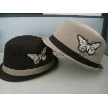 Fashionable Gent Fedora Hat, Sports Baseball Cap