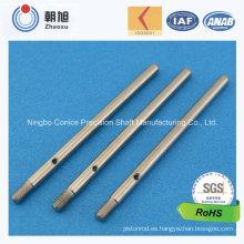 Eje de accionamiento modificado para requisitos particulares que trabaja a máquina del CNC del proveedor de China