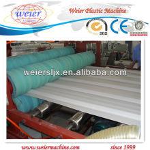 Máquina de hoja corrugada del techo del PVC del certificado del CE