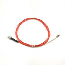 LC TO ST Cable de conexión OM2 multimodo único