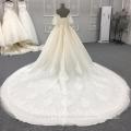 High Quality Off Shoulder latest design Wedding Dress Bridal Gown DY033