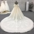 Alta qualidade fora do ombro mais recente projeto vestido de noiva vestido de noiva DY033