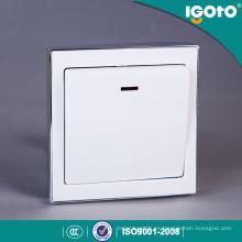 Interruptores de pared eléctricos de la lámpara del botón de Igoto B9020 20A de China