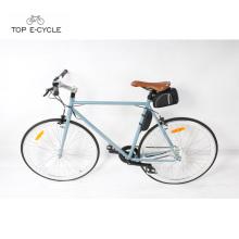 China fashionable city racing bicycle single speed electric bike