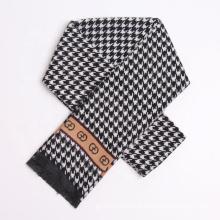 Hot Fashion Plover Design Brand Inspired Pashmina Wool Feeling Business Men Winter Scarf