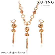63147- Xuping African beads jewelry set nigerian wedding