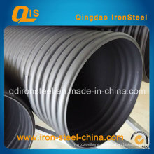HDPE spiral Bellows Pipe Reinforced by Steel Belt