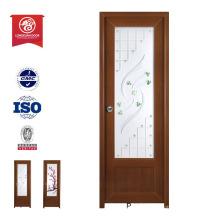 Guangzhou factory top pvc plastic wooden color door