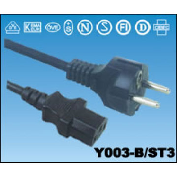 Netzkabel mit Stecker Kabel