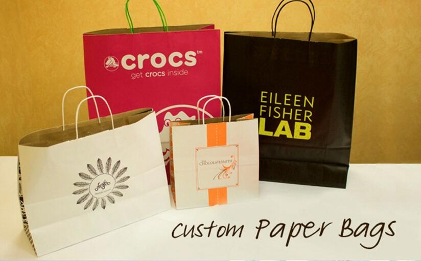 Customized paper totes