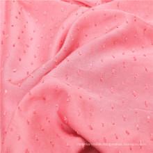 Fashional Jacquard Cut Flowers Dyed Yarn Rayon Fabric
