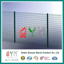 Galvanized and PVC Coated Blue Welded Wire Fence