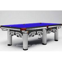 9ft slate American pool table carom cue on sale