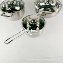 большой коммерческий набор посуды из нержавеющей стали