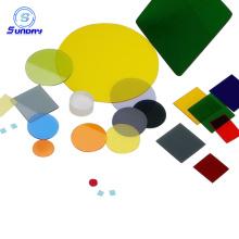 Filtres de verre optique en verre de Chine