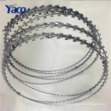 Anti-thief razor barbed wire mesh, wires hot dipped razor barbed wire price for sale