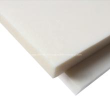 Hoja de POM ESD de plástico acetal blanco negro