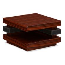 Mesas de extremo de madera de cerezo de esquina de alta calidad (FOH-UPC07)