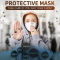 Masque de protection KN95 Anti Coivd-19