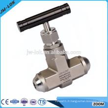 Vanne à aiguille à flotteur à pression hydraulique à sens unique