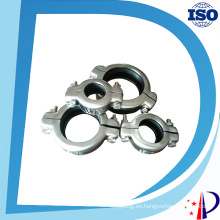 Abrazadera de liberación rápida de tubería de acero inoxidable flexible de alta presión