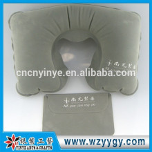 Almohada personalizada respaldo hinchable flocado
