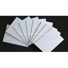Feuille de PVC mousse blanche