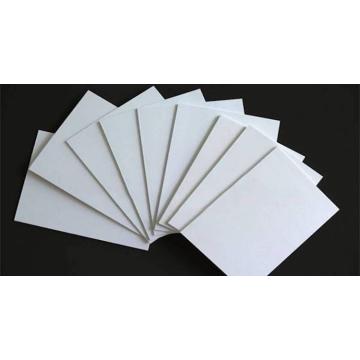 Hoja de construcción de tablero de espuma de PVC blanco