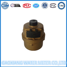 Copper Shell Volumetric Piston Water Meter Dn15-Dn25