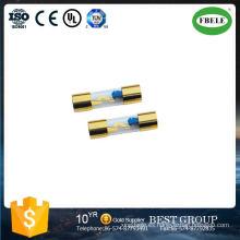 Sin plomo 5A 250V Tubo de vidrio 6.3 X 32 Fusible de golpe lento