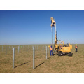 Fence Post Driver Farm Consolidation Pile Driver Usado