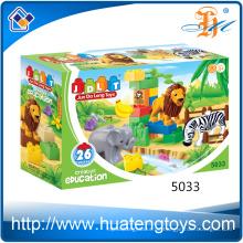 Neue Kinder Pädagogische Big ABS Kunststoff Bausteine Spielzeug