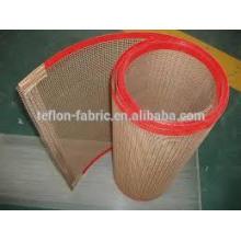 China alta qualidade 4 * 4 mm tamanho de malha uv secar correias transportadoras para secadores de tela de impressão UV de transporte